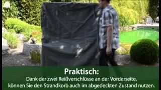 Premium Schutzhülle für Strandkorb bis 125cm