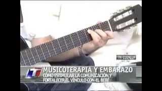 Gabriel Federico, musicoterapia y embarazo en TN Ciencia