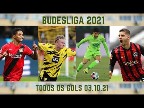 TODOS OS GOLS  - BUDESLIGA 03.10.21 #futebol