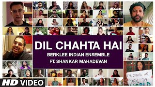 Dil Chahta Hai : Berklee Indian Ensemble Ft. Shankar Mahadevan | T-Series - Download this Video in MP3, M4A, WEBM, MP4, 3GP