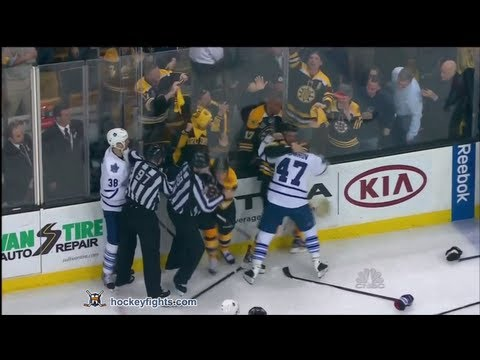 Chris Kelly vs. Leo Komarov