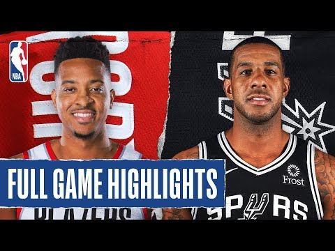 TRAIL BLAZERS at SPURS | FULL GAME HIGHLIGHTS | November 16, 2019
