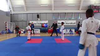Team Kumite – Group 1 – Area 1 – Elkai Karate Championships 2017