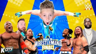 Flying High!! Road to WWE WrestleMania 2021 FINAL! K-City Gaming