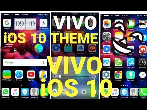How To Get New Ios 10 Theme In Vivo V3 V5 Y53 Y55 Y51 Y21