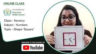Nursery | Square Shape | Numbers | Learn About Shapes | Ruby Park Public School Thumbnail