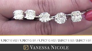 Cushion Cut Diamonds - Jamess Diamond Selection - Cushion Cut Diamonds