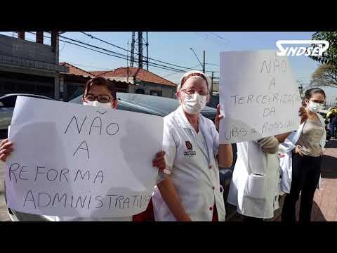 Sindsep realiza mobilização contra a PEC 32 na região Sudeste