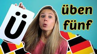 GERMAN PRONUNCIATION 5: Pronunciation of the German UMLAUTE