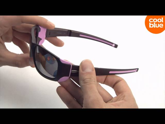 Видео Очки Julbo Monterosa Grey/bordeaux Reactiv Cameleon Brown