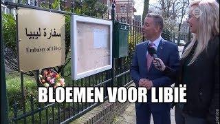 Libische ambassade betaalt eindelijk boetes, krijgt bloemen