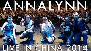 ANNALYNN live in CHINA 2014