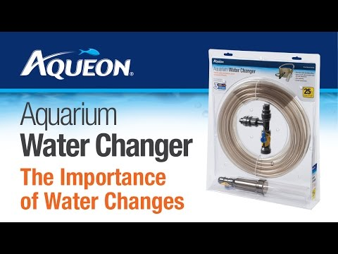 "Aqueon Siphon Vacuum Aquarium Gravel Cleaner with Bulb 10"" Video"
