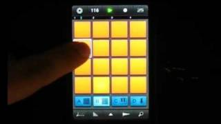 iMaschine Demo - Making a Beat (New! iPhone App)