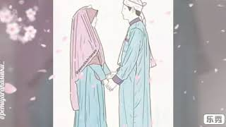 Download 5100  Gambar Animasi Muslimah Pasangan HD Terbaru