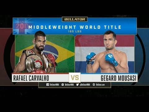 HIGHLIGHTS du Bellator 200 - Rafael Carvalho vs. Gegard Mousasi