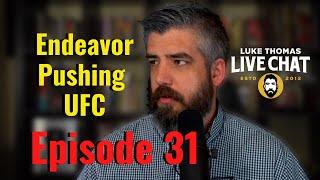 UFC on ESPN, UFC Champs, Bisping vs. Till, Luke Rockhold | Live Chat, ep. 31| Luke Thomas