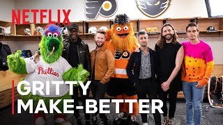 A Very Furry Queer Eye Special: Philadelphia Mascot Gritty Gets A Makeover | Netflix