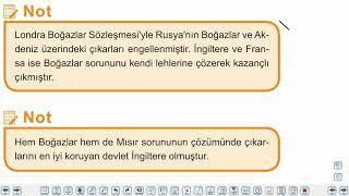 Eğitim Vadisi 11.Sınıf Tarih 9.Föy Osmanlı'nın Siyasi Varlığına Yönelik Tehditler (1) Konu Anlatım Videoları