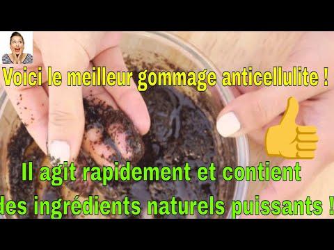 Voici le meilleur gommage anticellulite ! Il agit rapidement et contient des ingrédients naturels pu
