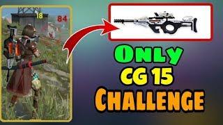 Rank CG15 Gun Challenge || New Gun CG15 || Garena Free Fire - Desi Gamers