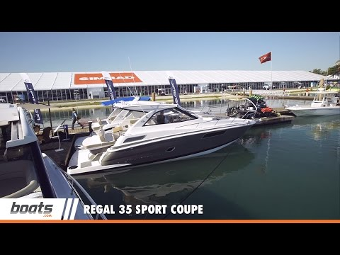 Regal 35 Sport Coupevideo