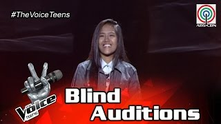 TheVoiceTeensPhilippinesBlindAudition:GenesisEspera-Closer