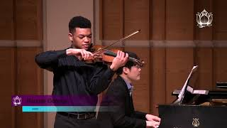 "Randall Goosby | Gershwin arr Heifetz: ""It Ain't Necessarily So"" from Porgy & Bess"