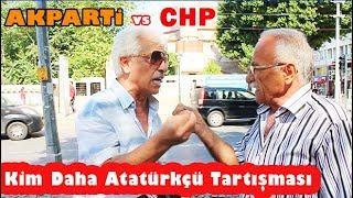 AKP ve CHP Kavgası - Kayıt Dışı Röportajlar