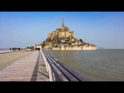 Le Mont St Michel in 4K.