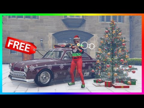 GTA 5 Online - NEW UPDATE! Snow Has Arrived, FREE Christmas Gifts Info & MORE! (GTA 5 Festive DLC)