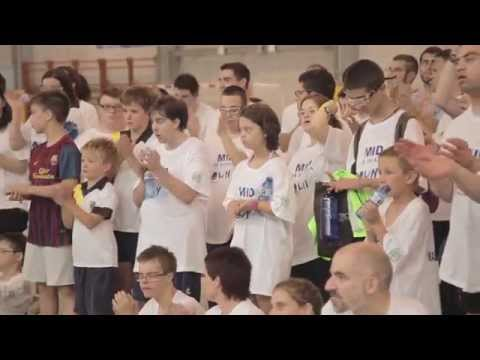 Watch video Futbol Sala solidario Down Catalunya