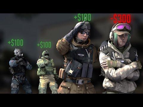 1v3 FOR $300! - Rainbow Six Siege