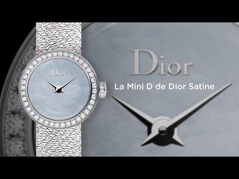 MyWatchTV – La Mini D de Dior Satine (english version)