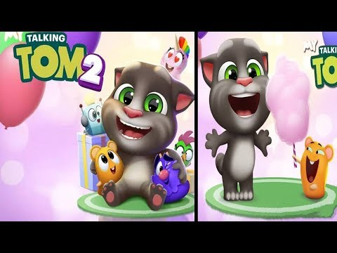 Talking tom gold run game android gameplay for kids Part#2