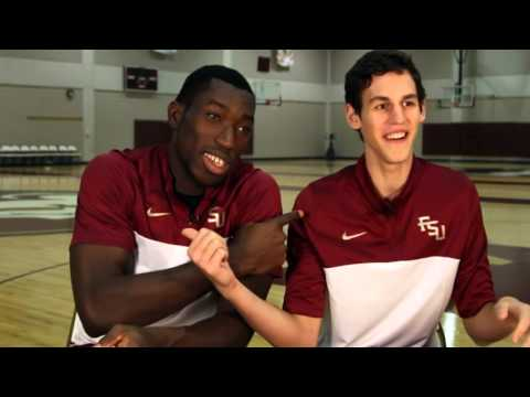 Michael Ojo, Boris Bojanovsky Go Bowling | FSU Men's Basketball