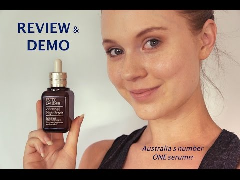 Estee Lauder- Advanced Night Repair Serum REVIEW & DEMO!!