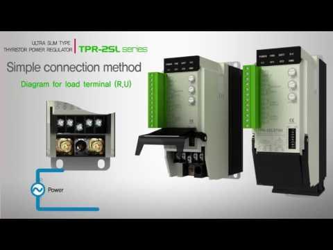 TPR-2SL Single Phase Thyristor Power Regulator
