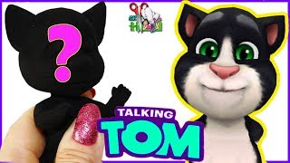 МАЛЕНЬКИЙ ГОВОРЯЩИЙ КОТ ТОМ ❤️ КУКЛА ООАК часть 1 / My Talking Tom// Muza Rukodeliya 🌺
