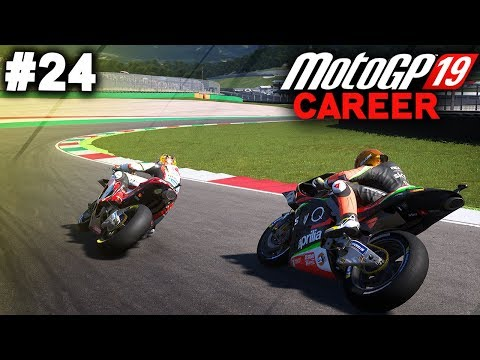 MotoGP 19 Career Mode Gameplay Part 24 - LAST APRILLIA RACE (MotoGP 2019 Game Career Mode PS4 / PC)