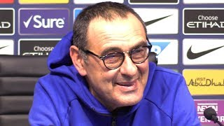Manchester City 6-0 Chelsea - Maurizio Sarri Full Post Match Press Conference - Premier League