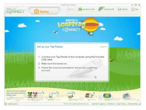 Leapfrog Connect Home Page