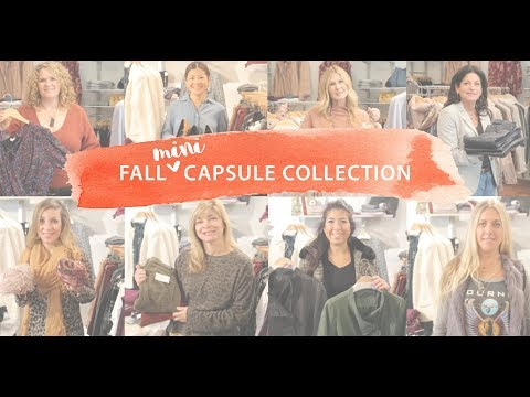 Fall #Mini Capsule Collection | 8 Perfect Pieces for Autumn