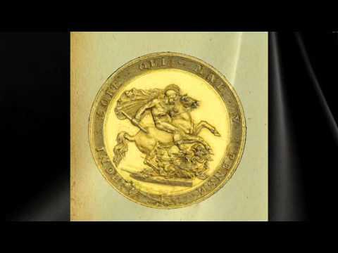 Der Sovereign in Gold