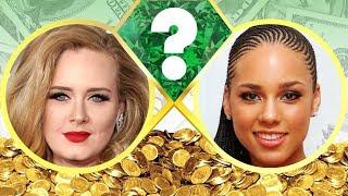 WHO'S RICHER? - Adele or Alicia Keys? - Net Worth Revealed! (2017)