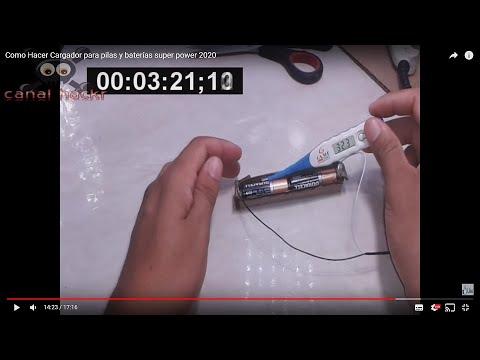 Como Recargar baterías