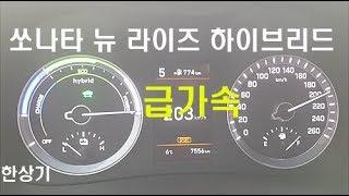 [한상기] 현대 쏘나타 뉴 라이즈 하이브리드 급가속 & 급제동