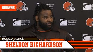Sheldon Richardson: We have to get into the backfield fast to contain Kyler Murray | Player Sound