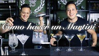 🍸MARTINI / COMO HACER UN DRY MARTINI  / TUTORIAL BARTENDER / COCKTAIL