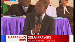 DP  William Ruto's tribute to the victims of Solai dam  tragedy